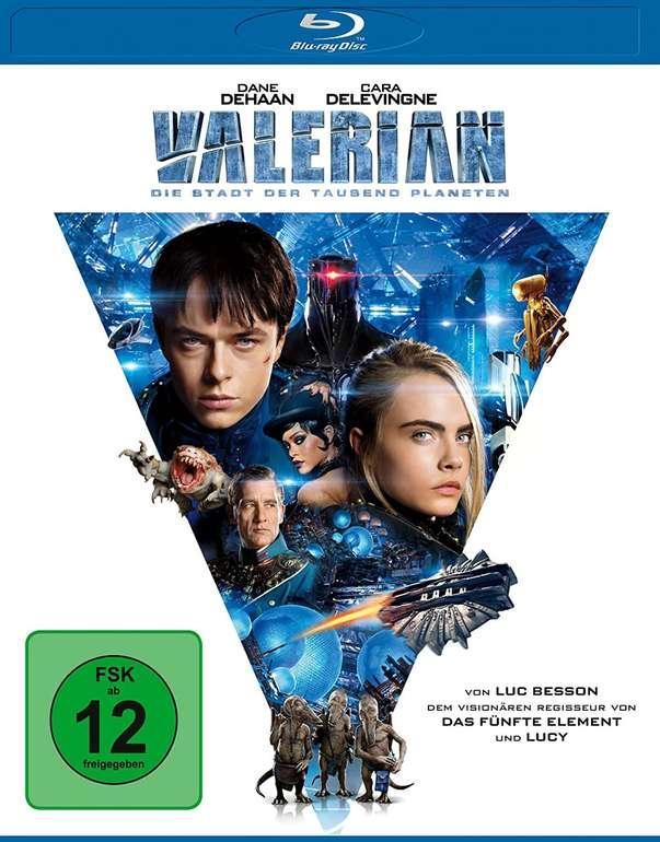 Valerian - Die Stadt der tausend Planeten (Blu-ray) für 4,99€ (Abholung)