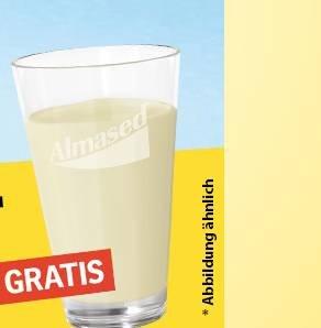 Freebie: Gratis Trinkglas mit Almased Schriftzug komplett kostenlos bestellen
