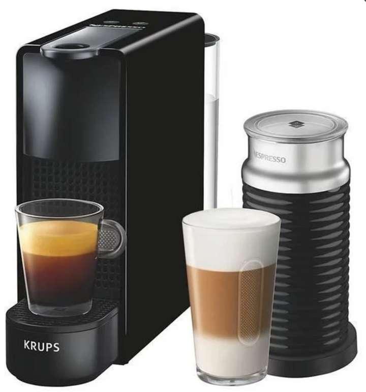Krups Essenza Mini XN 1118 Kapselmaschine + Milchaufschwäumer in schwarz für 91,85€ inklusive Versand