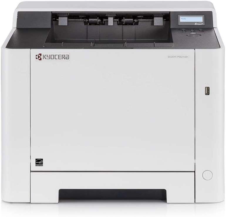 Preisfehler?: Kyocera Ecosys P5021cdn Farblaserdrucker (21 Seiten/min) für 90,45€ inkl. Versand (statt 236€)