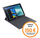 Samsung Galaxy Book 10.6 LTE + O2 Data M mit 10GB LTE für effektiv 20,78€ mtl.