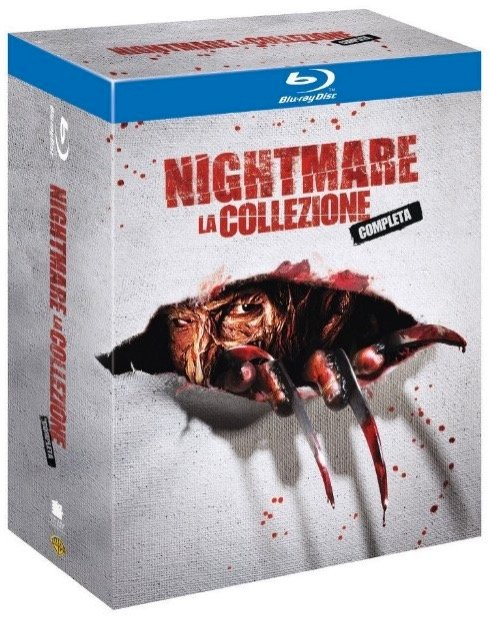 Nightmare On Elm Street Collection auf Blu-ray nur 12,98€ inkl. Versand
