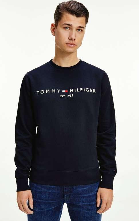 """Tommy Hilfiger """"Tommy Logo"""" Sweatshirt  (vers. Farben & Größen) für 50,94€inkl. Versand (statt 59€)"""