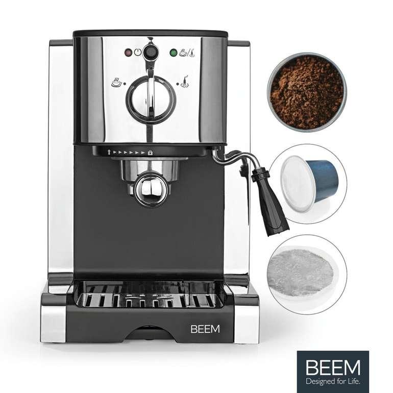 Beem Siebträgermaschine Espresso Perfect für 76,49€ inkl. Versand (statt 119€) – B-Ware!