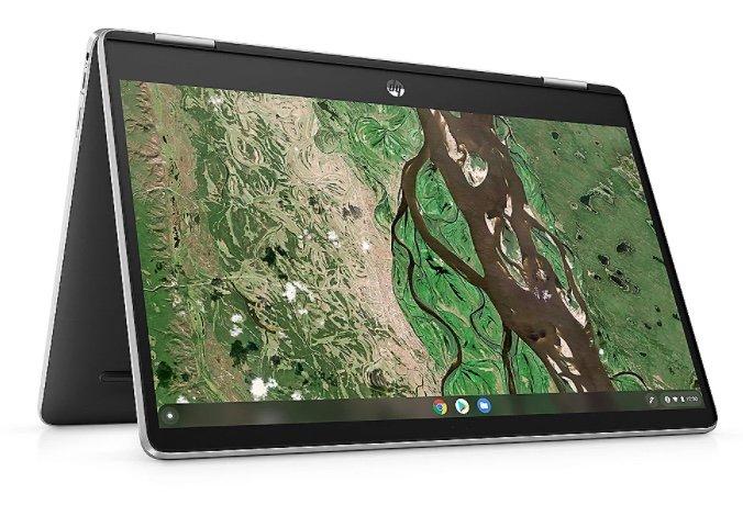 "HP Chromebook x360 (14b-cb0430ng) - 14"" FHD IPS 2in1 Touch N6000 8GB/128GB eMMC ChromeOS für 399€"