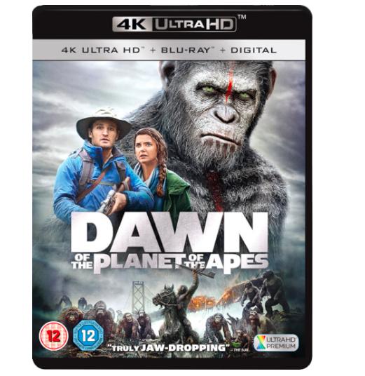 Planet der Affen: Revolution (4K Blu-ray + Blu-ray) für 16,84€ (Vergleich: 25€)