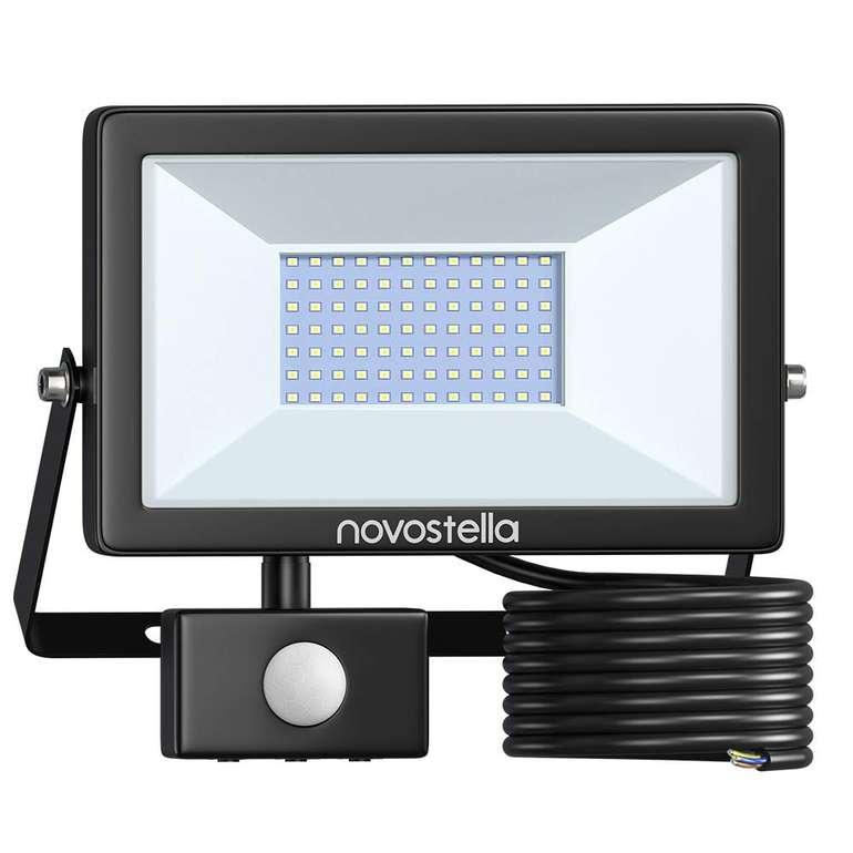 Novostella LED Strahler mit 6.000 Lumen & Bewegungsmelder für 32,19€ inkl. Versand