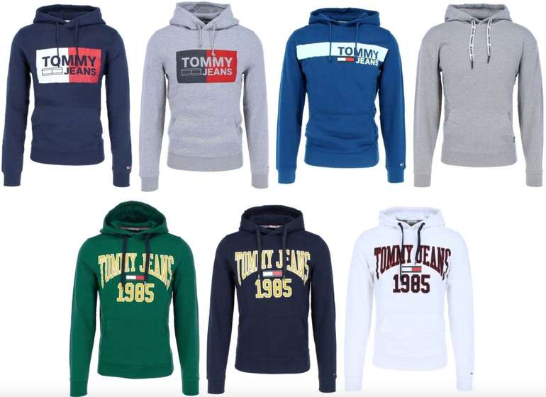 Tommy Hilfiger Herren Hoodies (Essential Graphic & Contemporary & Essential Logo) für je 49,90€