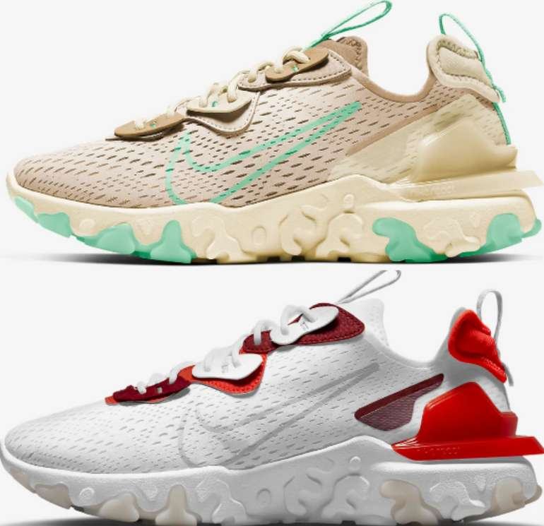 Nike React Vision Schuhe (Damen + Herren, vers. Designs) für 58,48€ inkl. Versand (statt 91€) - Nike Club!