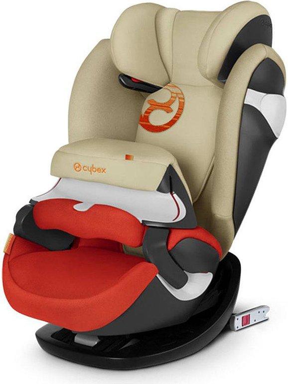 """Cybex Kindersitz """"Pallas M-Fix"""" in Beige/ Rot - Gruppe 1/2/3 für 154,94€ (statt 210€)"""