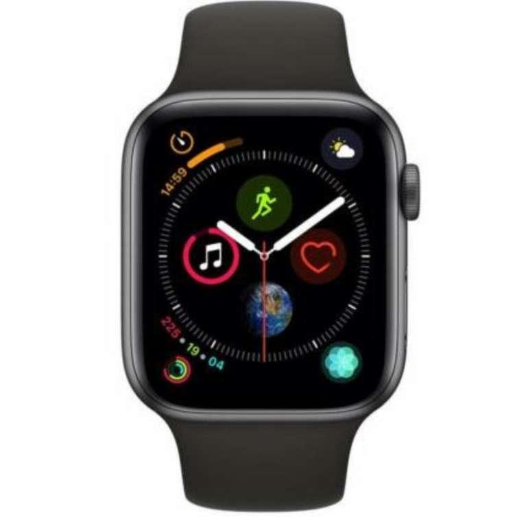 Apple Watch Series 4 GPS 44mm Alu-Gehäuse für 355€ inkl. Versand (statt 400€)