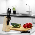 Bergner Profi-Messerblock mit 6 Küchenmessern + 2 Gratisartikel für 7,96€