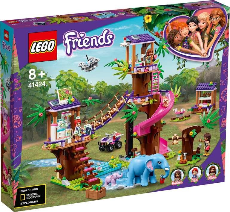 Lego Friends 41424 - Tierrettungsstation im Dschungel für 52,90€ (statt 60€)