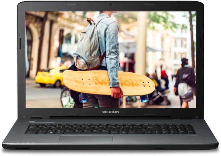 """Medion Akoya P7653 17,3"""" Notebook (i7, 8GB RAM, 128GB SSD, 1,5TB HHD) für 749€"""