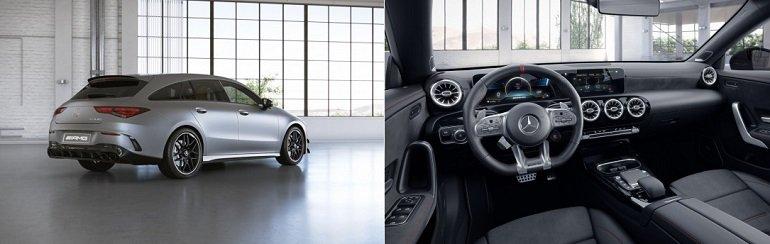 Mercedes CLA AMG 4MATIC+ Shooting Brake Leasing