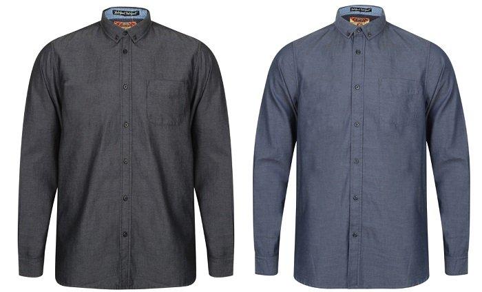 Tokyo Laundry Sonoma Herren-Langarmhemden ab 7,77€ zzgl. Versand