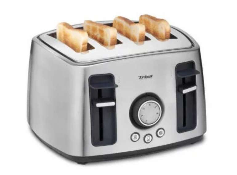 Toaster für 4 Scheiben von Trisa für 33,94€ (statt 56€)