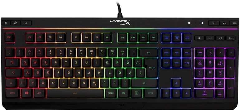 HyperX Alloy Core RGB Gaming-Tastatur für 34,99€ (statt 55€)