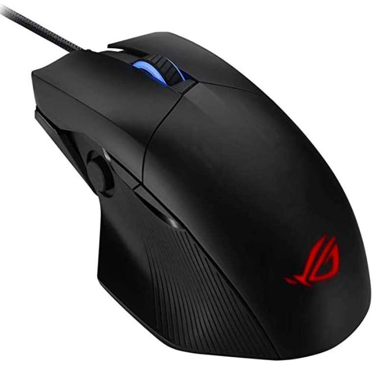 Asus ROG Chakram Core Gaming Maus (kabelgebunden, 16.000 DPI, programmierbarer Joystick, Aura Sync) für 52,98€