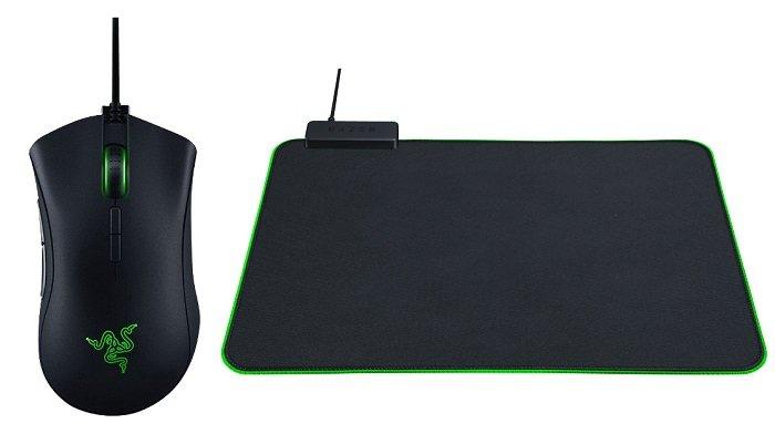 RAZER Deathadder Elite Maus + RAZER Goliathus Mousepad für 69€ inkl. VSK