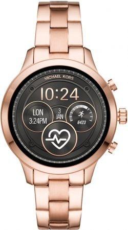 Michael Kors MKT5054 (155 mm) Runway Smartwatch in roségold für 179€ inkl. VSK