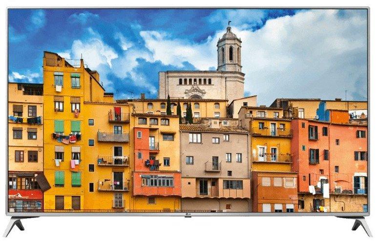 """LG 60UJ6519 LED Smart TV (Flat, 60"""", UHD 4K, webOS) nur 699€ inkl. Versand"""