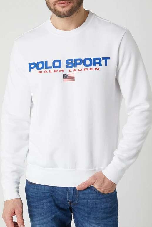 Polo Ralph Lauren Sweatshirt mit Logo-Print in Weiß für 49,99€ inkl. Versand (statt 70€)