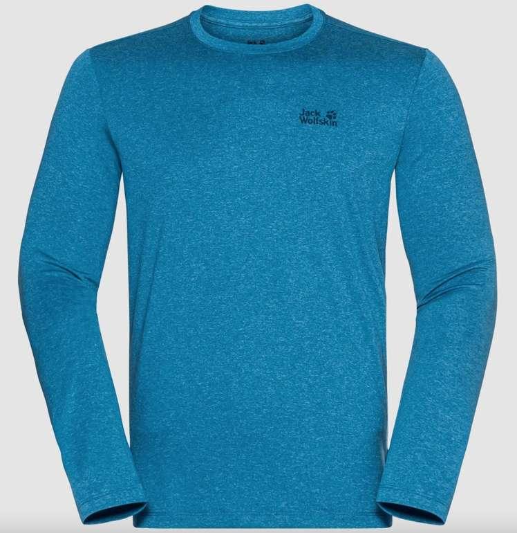 2x Jack Wolfskin Sky Thermal LS T M Sweatshirt (vers. Farben, Damen & Herren) für 42,95€ inkl. Versand