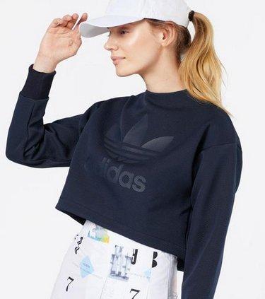Adidas Originals Cropped Sweatshirt für 49,90€ inkl. Versand (statt 60€)