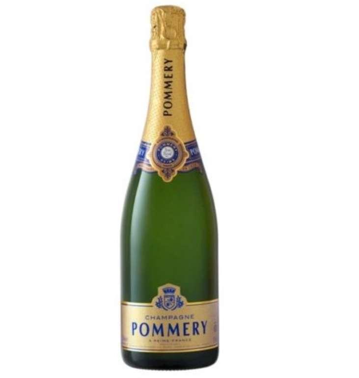 Pommery Champagner Royal Brut Koscher (12,5%, 0,75l Flasche) für 29,99€ inkl. Versand (statt 39€)