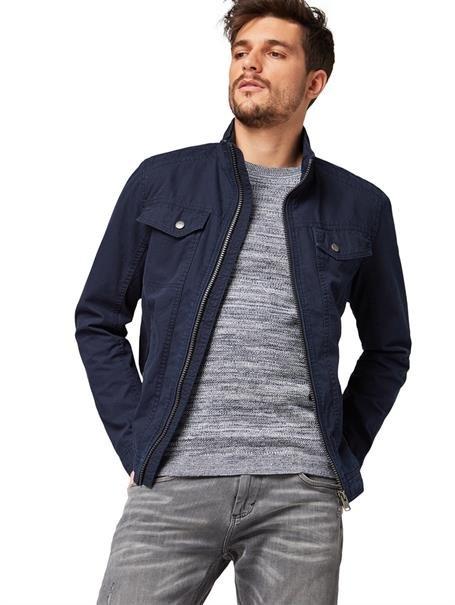 Tom Tailor Übergangsjacke mit Stehkragen für 34,89€ (statt 70€)