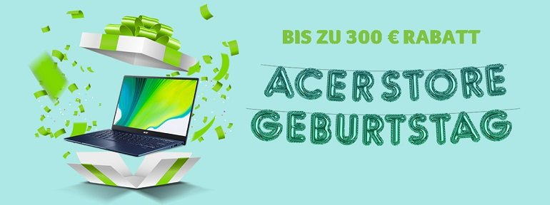Acer Geburtstags Angebote 2