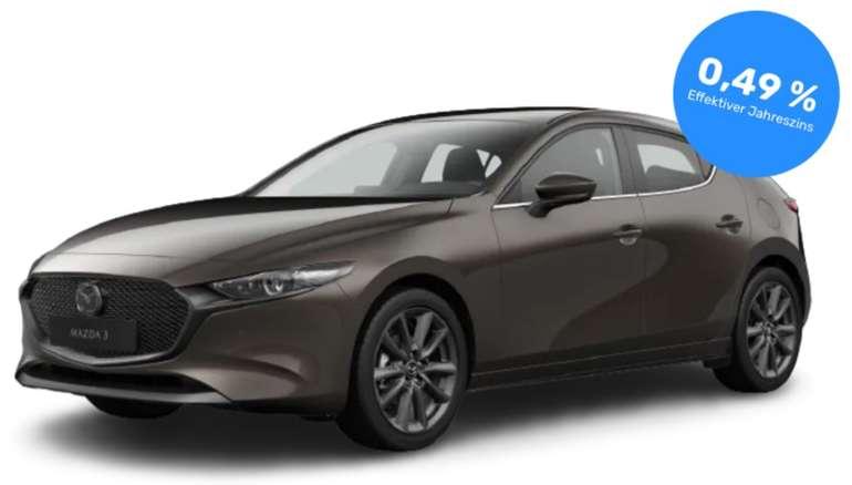 Privat Leasing: Mazda3 SKYACTIV-G Selection (150 PS) für 149€ mtl. (Überführung: 654,40€, LF: 0,48)
