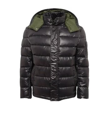 Pepe Jeans Jacke 'HUGH' in khaki / schwarz für 84,92€ inkl. Versand (statt 100€)