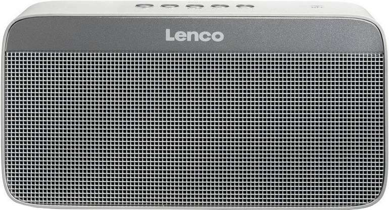 Lenco BT-200 light Bluetooth-Lautsprecher (NFC, 10 W, mit Beleuchtung & Multi-Pairing) ab 20,90€