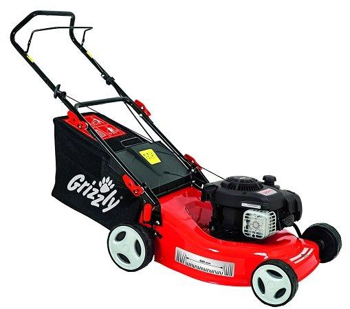 Grizzly Benzin-Rasenmäher BRM 46-125 BS mit 46cm Schnittbreite für 199,90€