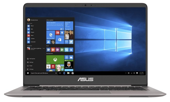ASUS UX3410UA-GV628T - 14 Zoll mit i5, 8GB RAM, 1TB + 256GB, W10 für 759€