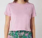 Champion Damen Crop Shirt mit Logo-Stickerei für 29,99€ (statt 35€)