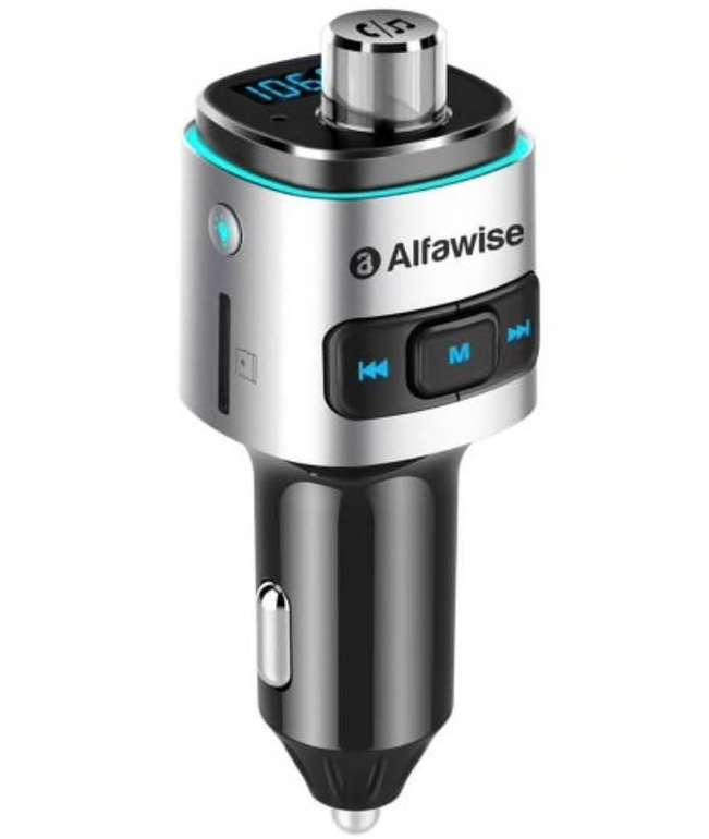 Alfawise Bluetooth FM-Transmitter und Ladegerät mit QC3.0 für 12,09€ inkl. Versand