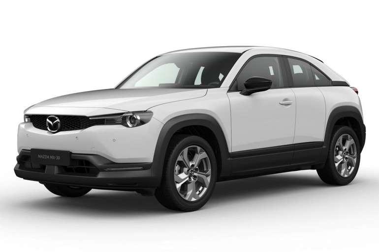 Gewerbeleasing: Mazda MX-30 e-Skyactive mit 145 PS für 80,79€netto mtl. (BAFA, LF: 0.28, Überführung: 890€)