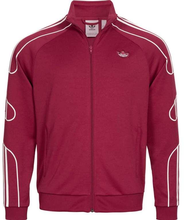 adidas Originals Flamestrike Herren Trainingsjacke in Rot für 41,94€ inkl. Versand (statt 50€)