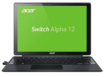 Acer Switch Alpha 12 – Convertible mit 12″ (256GB SSD, 4GB RAM, i5) für 555€