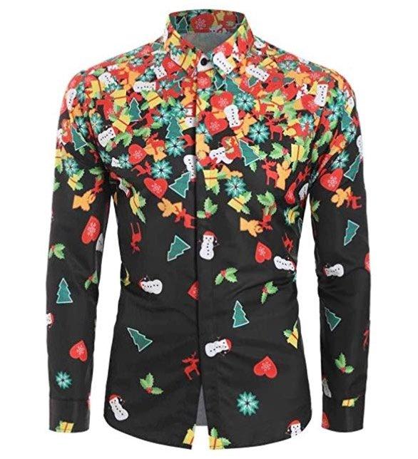 Vanmo Herren Freizeit Hemden mit Weihnachtsdruck für je 9€ inkl. Versand (statt 30€)
