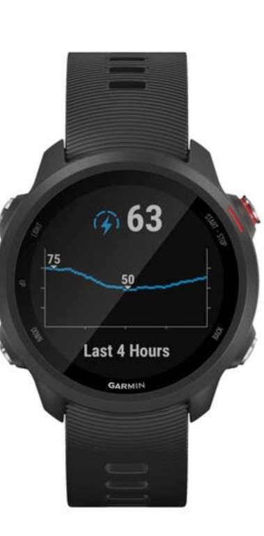 """Garmin GPS-Laufuhr """"Forerunner 245 Music"""" schwarzes Armband für 260,77€ inkl. Versand (statt 285€)"""