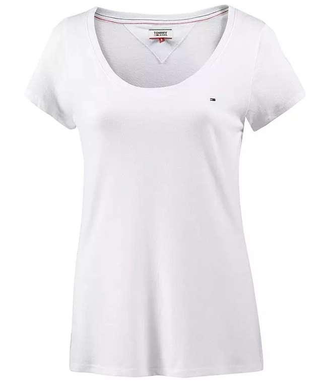 """Tommy Hilfiger Jeans Damen T-Shirt """"Original Triblend"""" in weiss für 26,31€ inkl. Versand (statt 30€)"""