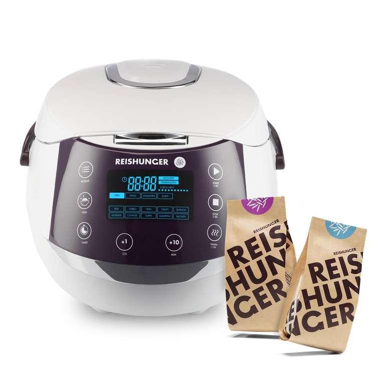 Digitaler Reishunger Reiskocher 538-DRK (860W, 1,5l) + Bio Basmati und Jasmin Reis für 99,99€ inkl. Versand (statt 143€)