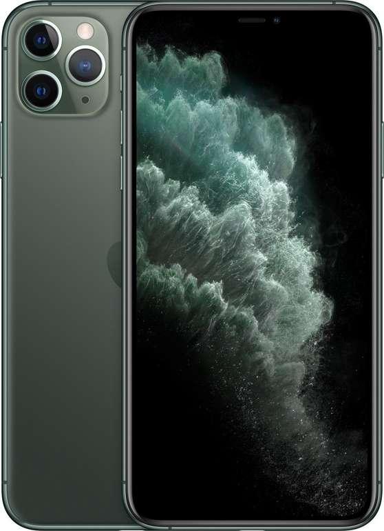 Apple iPhone Pro 11 Max mit 256GB Speicher in Midnight Green für 989€ inkl. Versand (statt 1.095€)
