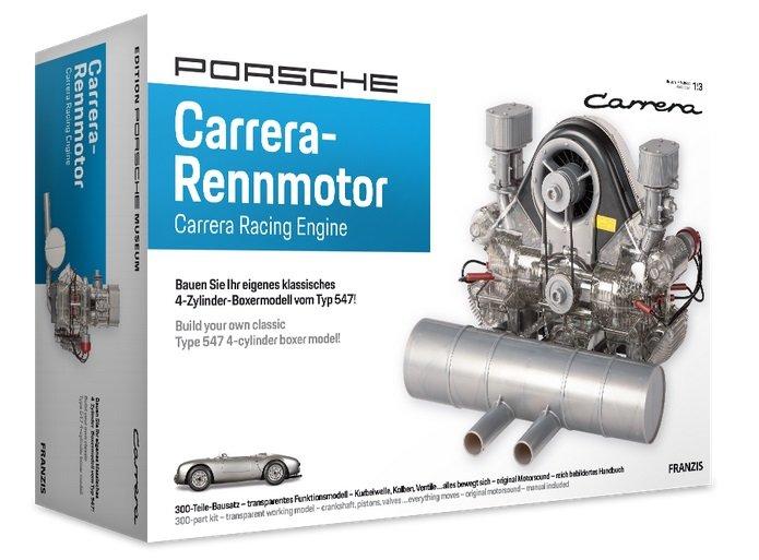 Franzis Porsche Carrera-Rennmotor (Originalgetreues Funktionsmodell im Maßstab ca. 1:3) für 120€ (statt 151€)