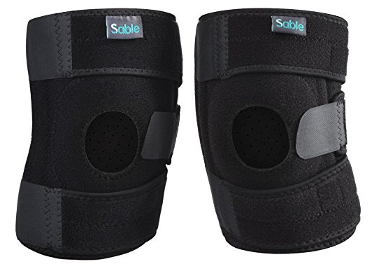 Verstellbare Sable Knieschützer / Bandagen für 8,99€ inkl. Prime Versand