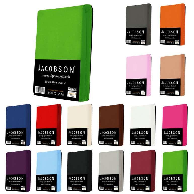 Jersey Spannbettlaken in 24 verschiedenen Farben ab 6,99€ inklusive Versand